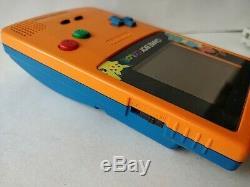Nintendo Gameboy Color Edition Limitée Pokemon Console Couleur Orange, Game-c0331
