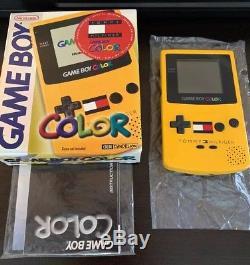 Nintendo Gameboy Color Gbc, Tommy Hilfiger, Ça Marche! Edition Cib Box Original
