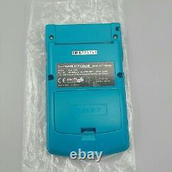 Nintendo Gameboy Color Konsole Türkis / Blau Ovp Cib Box Gbc