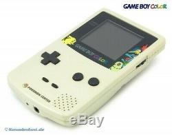 Nintendo Gameboy Color Konsole #gold & Silber Pokemon Center Edition