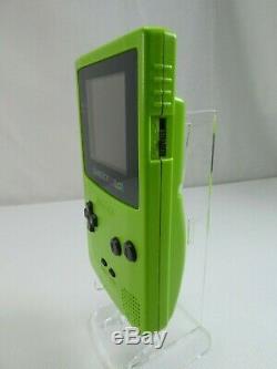 Nintendo Gameboy Color Lime Retro Vintage Véritable Monnaie Boxed