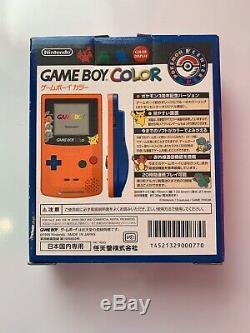 Nintendo Gameboy Color Pokemon 3ème Anniversaire Edition Limitée Japon F / S