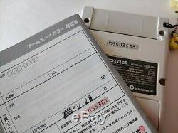 Nintendo Gameboy Color Pokemon Centre Limited Edition Console Boxed Testé-c0114