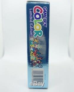 Nintendo Gameboy Color Pokémon Or & Argent Limited Cib Tout Neuf Avec Protector