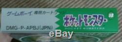 Nintendo Gameboy Color Pokemon Vert Complet Boxed Import Japonais A + Carte Mint