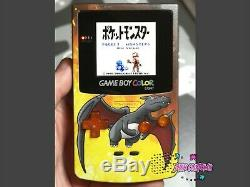 Nintendo Gameboy Color Shining Light Charizard Système Portable