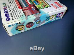 Nintendo Gameboy Color Teal Game Boy New Scellé En Usine