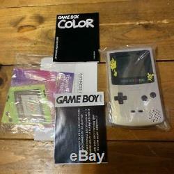 Nintendo Gameboy Color USA Limitée Couleur Pokémon USA