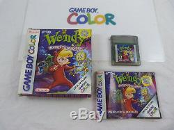 Nintendo Gameboy Coloris Wendy Toutes Les Sorcières Cib Ultra Rare