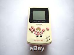 Nintendo Gameboy Couleur Gbc Console Cardcaptor Sakura Blanc & Rose Artwork Rare