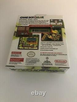 Nintendo Gameboy Couleur Kiwi Vert Complet Dans La Boîte