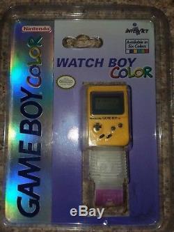 Nintendo Gameboy Couleur Montre Garçon Couleur