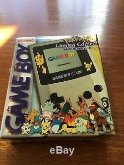 Nintendo Gameboy Couleur Pokemon Gold & Silver Édition Limitée Dans Une Boîte, Sans Documents