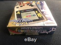 Nintendo Gameboy Couleur Pokemon Gold Silver Limited Nouveau Shipsfast Authentic