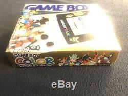 Nintendo Gameboy Couleur Pokemon Gold Silver Limited Nouveauavec Autre Box Authentique
