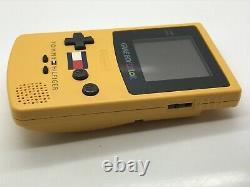 Nintendo Gameboy Couleur Tommy Hilfiger Édition Spéciale Couleur Pissenlit