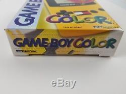 Nintendo Gameboy Couleur Tommy Hilfiger Édition Spéciale Jaune