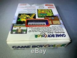 Nintendo Gameboy Game Boy Color Purple Grape Brand New Scellé En Usine
