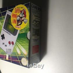 Nintendo Gameboy Game Boy Couleur Classic Dmg-01 Console Rare Boxed Scellé Nouveau