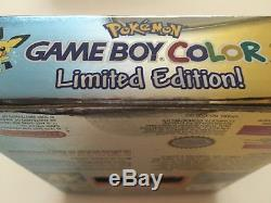 Nintendo Gameboy Game Garçon Couleur Pokemon Gold Console Rare Boxed Scellé Nouveau