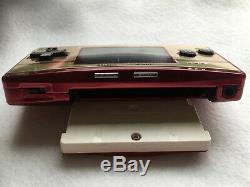 Nintendo Gameboy Micro Famicom Couleur 20 Chargeur Anniversaire Super Mario Bros