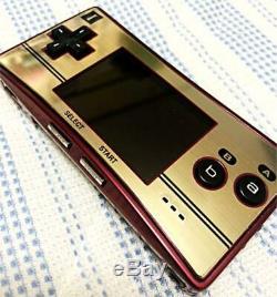 Nintendo Gameboy Micro Famicom Couleur Console Japon Mint Pour Collection