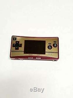 Nintendo Gameboy Micro Famicom Couleur Console Utilisé Import Japon