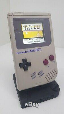 Nintendo Gameboy Ultime Dmg-01 Rétro-éclairage Ips Couleur De Fond Modifiable
