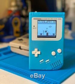 Nintendo Gameboy Ultime Dmg Avec Écran LCD Superbe Écran Ips Et Palette Multi-couleurs