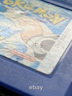 Nintendo Gbc Game Boy Color Pikachu Console Édition Et 6 Authentique Jeux Pokemon