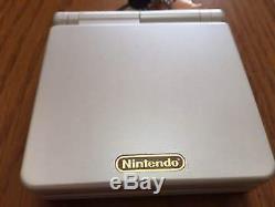 Nintendo Jeu Boy Advance Sp Console Système Famicom Limited Couleur F / S Used