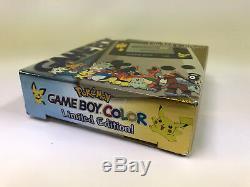 Nouveau Coloré Par Gameboy Scellé En Usine Pokemon Limited Edition Gold And Silver