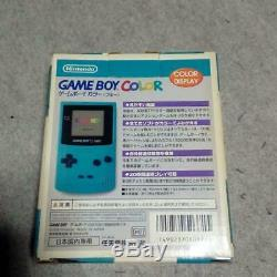 Nouveau Gameboy Color Console Bleu Japon Système En 200 $ Vente