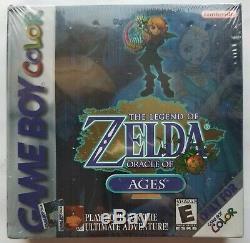 Nouveau Legend Of Zelda Oracle Of Ages (game Boy Color, 2001) Scellé En Usine