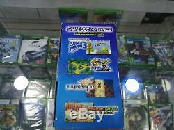 Nouveau Nintendo Game Boy Advance Indigo Système Handheld E-reader Bundle Sealed