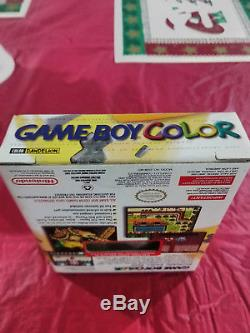 Nouveau Nintendo Gameboy Color Tommy Hilfiger Édition Spéciale