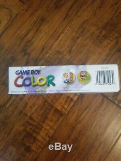 Nouveau Nintendo Scellé Game Boy Color Purple Atomique