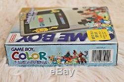 Nouveau Sealed Gameboy Color Pokemon Limited Edition Or Et Argent