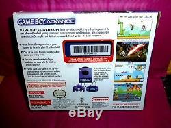 Nouvel Écran Couleur Large Pour Nintendo Gameboy Advance Violet