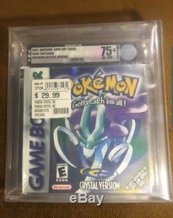 Nouvelle Version Pokemon Crystal Vga Graded! Scellé En Usine! (game Boy Couleur)