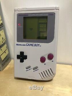 Original Nintendo Game Boy Système Cib Complet En Boîte + Couleur + Console Advance