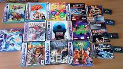 Pack De Jeux Gameboy Nintendo. Couleur, Avancé, Pokémon, Street Fighter