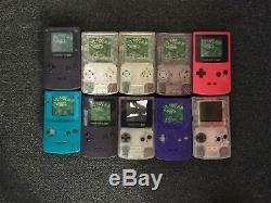 Pièces De Rechange Ou Réparation De Lot Lot X10 Faulty Nintendo Game Boy