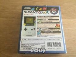 Pokemon Center Silver Edition Limitée Ovp Boite Gameboy Color