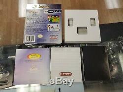 Pokemon Cristal Game Boy Color Gbc Boîte Manuelle Et Inserts Seulement No Game