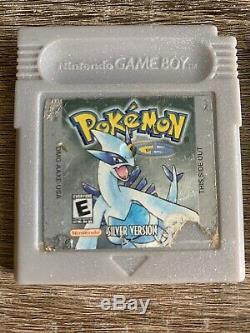 Pokemon Cristal Or Argent Bleu Rouge Jaune Collection GB Gbc Game Boy Color