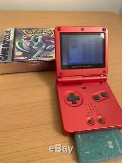 Pokemon Cristal Version Boxed Avec Manuel (nintendo Game Boy Color, 2001) Royaume-uni