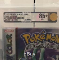 Pokemon Crystal Gameboy Color Jeux Nintendo Vga Classés Par Couleur