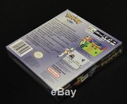 Pokemon Crystal Nintendo Gameboy Couleur Gbc Sealed Beautiful