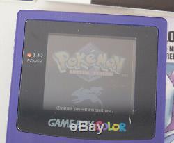 Pokemon Crystal Version Authentic Game Boy Couleur Complète